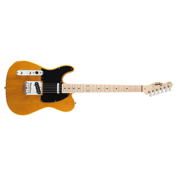 Электрогитара Fender Squier Affinity Telecaster Left Handed MN Butterscotch Blonde fender squier vintage modified telecaster custom mn black