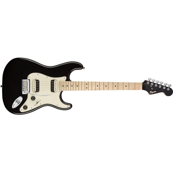 Электрогитара Fender Squier Contemporary Stratocaster HH Maple Fingerboard Black Metallic fender squier affinity series precision bass® pj rosewood fingerboard black
