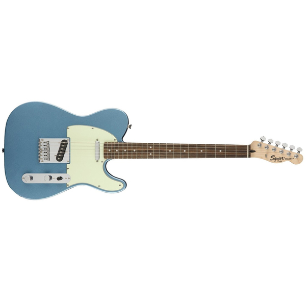 Электрогитара Fender Squier FSR Bullet Tele Laurel Fingerboard Lake Placid Blue fender fender american original 60s jaguar® rosewood fingerboard surf green
