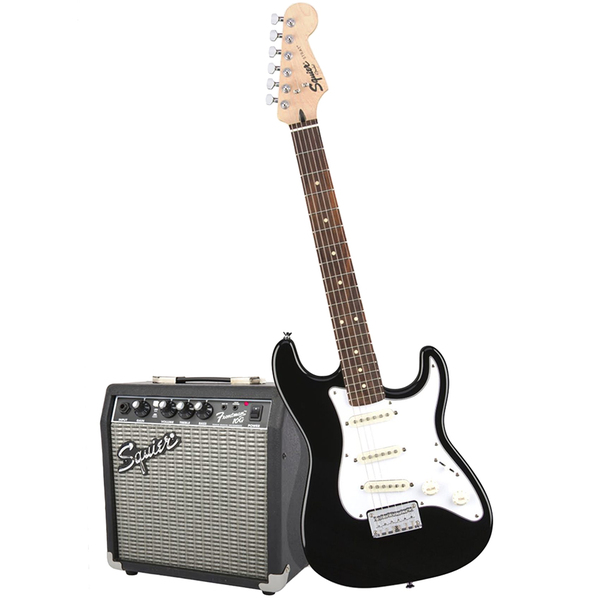 Гитарный комплект Fender Squier Stratocaster Pack Black fender fender squier contemporary telecaster hh maple fingerboard dark metallic red