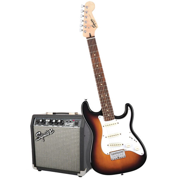 Гитарный комплект Fender Squier Stratocaster Pack Brown Sunburst