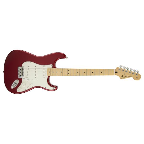 Электрогитара Fender Standard Stratocaster MN Candy Apple Red Tint телекастер fender standard telecaster mn lpb