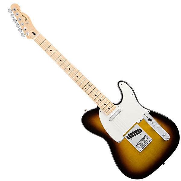 Электрогитара Fender Standard Telecaster MN Brown Sunburst Tint гитара для левшей fender squier affinity tele mn bb lh