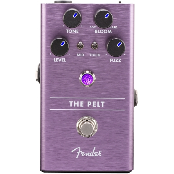 Педаль эффектов Fender The Pelt Fuzz Pedal aroma asf 3 electric guitar effect pedal s fuzz vintage silicon fuzz mini single effect with true bypass