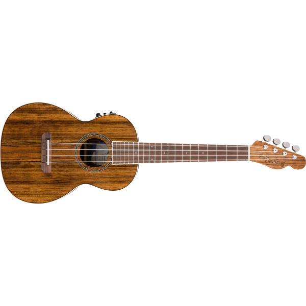 Укулеле Fender Ukulele Rincon V2 Ovangkol Nat WB