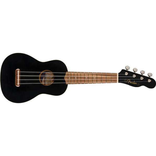 Укулеле Fender Venice Soprano Uke Black