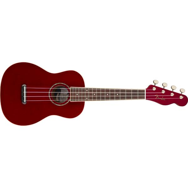 Укулеле Fender Zuma Classic Uke WN Candy Apple Red