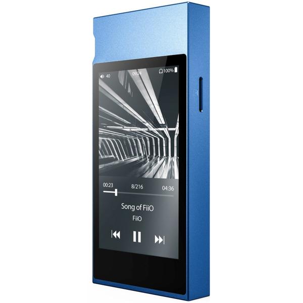 Портативный Hi-Fi плеер FiiO M7 Blue newman newsmy mp3 плеер g7 dsd музыкальный проигрыватель без потерь 2 5d двухсторонний стекло hifi плеер портативный плеер черный