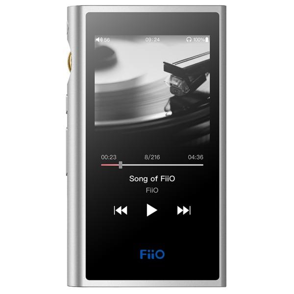 Портативный Hi-Fi плеер FiiO M9 Silver fiio m3 15118390 портативный плеер сyan