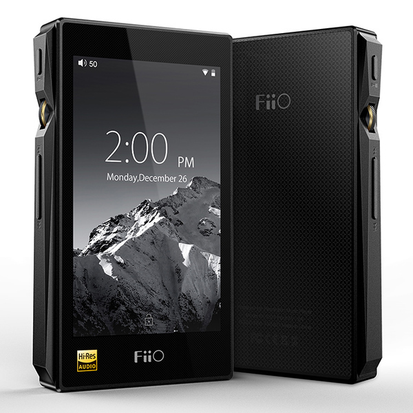 Портативный Hi-Fi плеер FiiO X5 3nd gen Black mp3 плеер fiio hi fi x5 iii черный