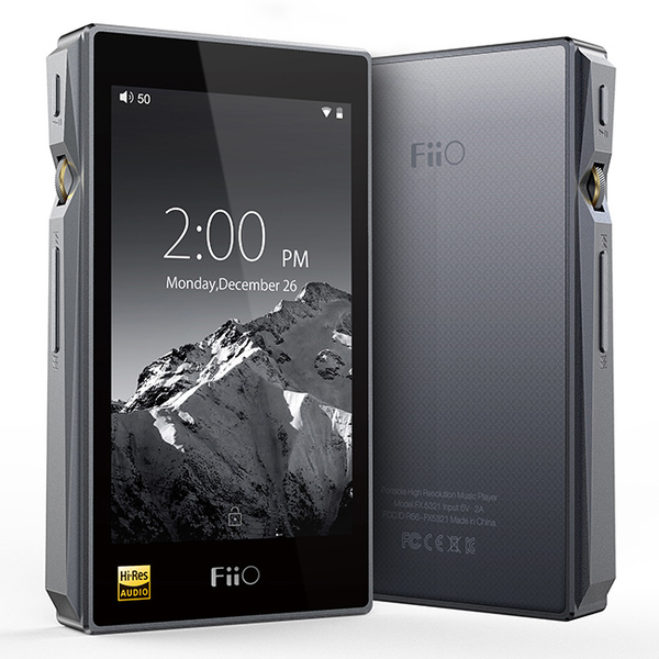 Портативный Hi-Fi плеер FiiO X5 3nd gen Titanium mp3 плеер fiio hi fi x5 iii черный