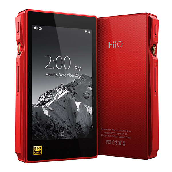 Портативный Hi-Fi плеер FiiO X5 3nd gen Red mp3 плеер fiio hi fi x5 iii черный