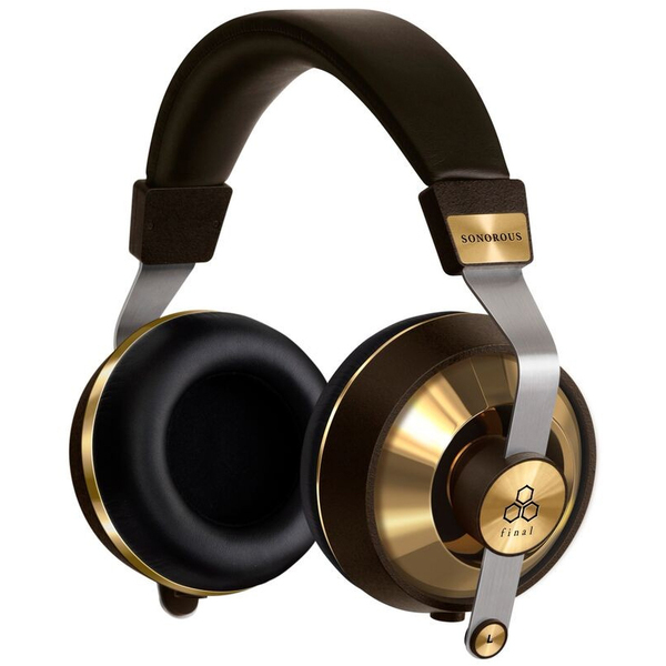 Охватывающие наушники Final Audio Design SONOROUS VIII Brown/Gold final audio design heaven viii
