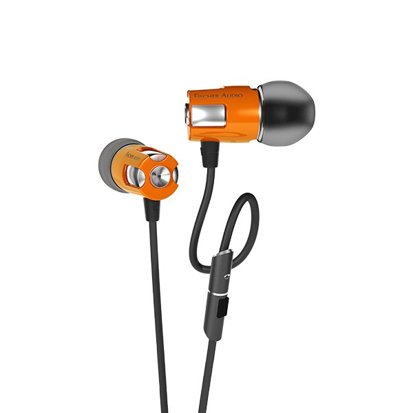 Внутриканальные наушники Fischer Audio Consonance v.2 Orange наушники fischer audio yuppie violet black
