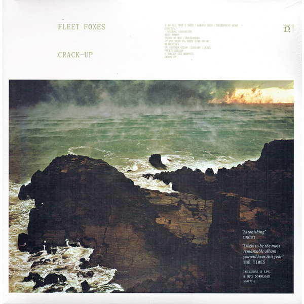 Fleet Foxes Fleet Foxes - Crack-up (2 LP) n light 405 03 63cwb chrome white crack black crack