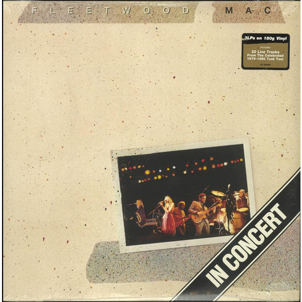 Fleetwood Mac Fleetwood Mac - In Concert (3 LP) mac
