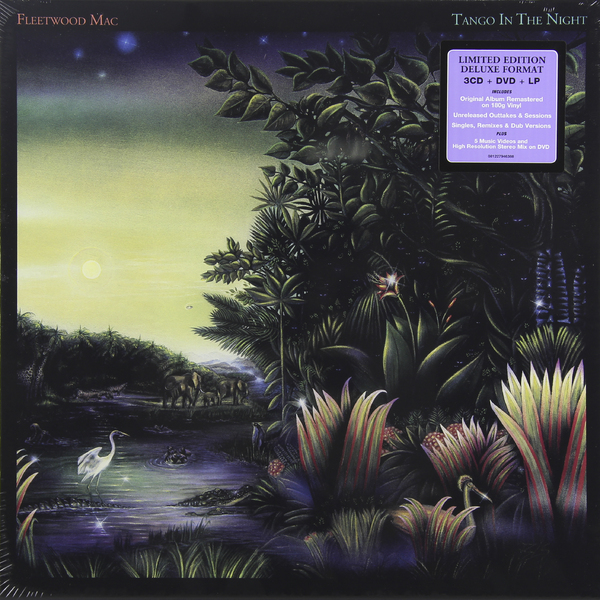 Fleetwood Mac Fleetwood Mac - Tango In The Night (3 Cd + Dvd + LP) музыка cd dvd nirvana in utero