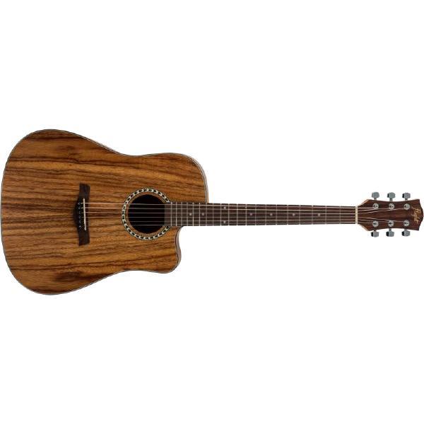 Акустическая гитара Flight D-155C TEAK Natural