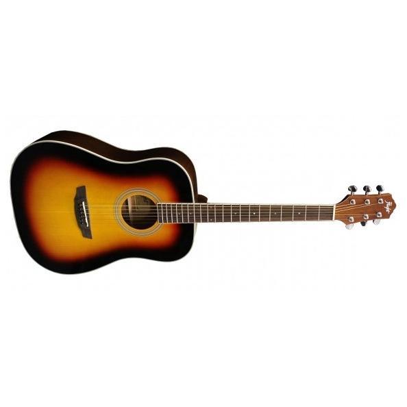 Акустическая гитара Flight D-200 3-Color Sunburst