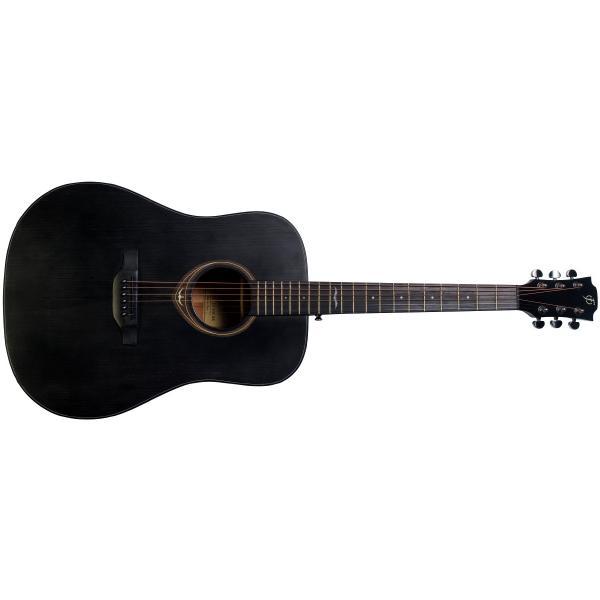 Акустическая гитара Flight D-435 Black