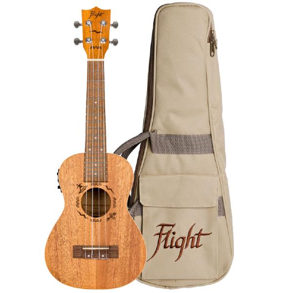 Укулеле Flight DUC323 EQ Mahogany