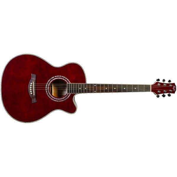 Акустическая гитара Flight F-230C Wine Red