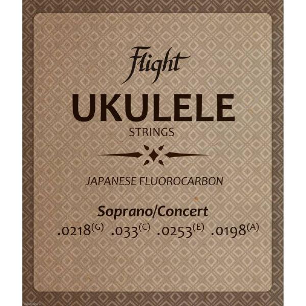 Гитарные струны Flight FUSSC-100 (для укулеле)