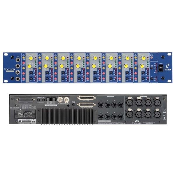 Микрофонный предусилитель Focusrite ISA 828 аксессуар behringer микрофонный предусилитель mic2200