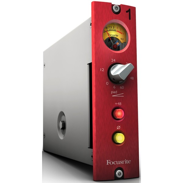 Микрофонный предусилитель Focusrite Red 1 500 Series focusrite red 4pre thunderbolt 2