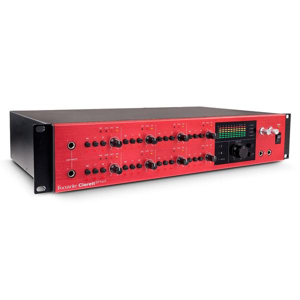 Внешняя студийная звуковая карта Focusrite Clarett 8PreX Thunderbolt звуковая карта внешняя motu 828 mkiii hybrid