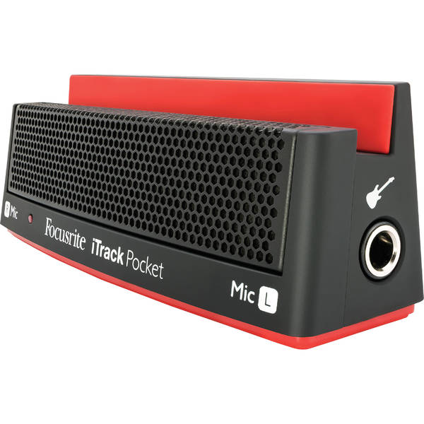 Мобильный аудиоинтерфейс Focusrite iTrack Pocket аудиоинтерфейс focusrite scarlett octopre
