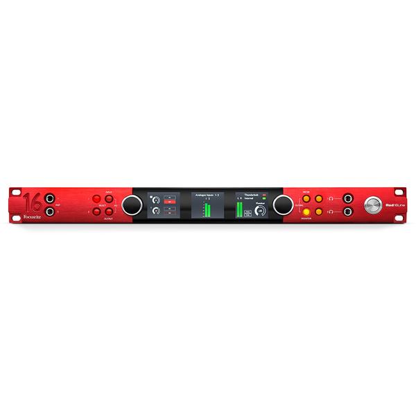 Внешняя студийная звуковая карта Focusrite Red 16Line Thunderbolt 3 внешняя студийная звуковая карта zoom uac 8