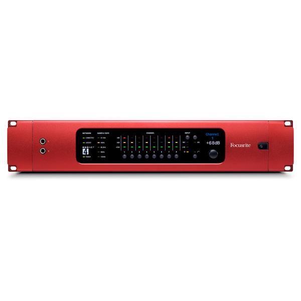 Микрофонный предусилитель Focusrite RedNet 4 цап ацп конвертер focusrite rednet3