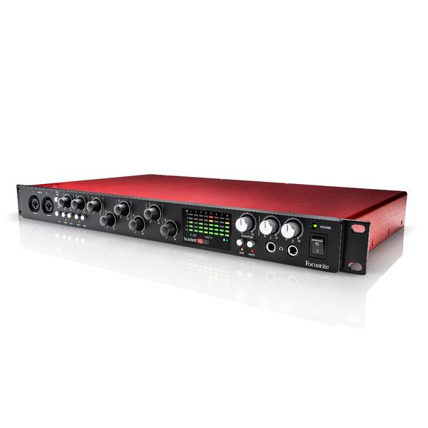 все цены на Внешняя студийная звуковая карта Focusrite Scarlett 18i20 2nd Gen