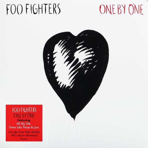 Foo Fighters Foo Fighters - One By One (2 LP) foo fighters one by one special limited edition ecd cd
