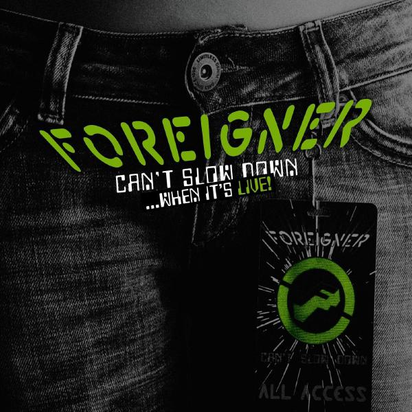 Foreigner Foreigner - Can't Slow Down... When It's Live! (2 LP) foreigner canberra
