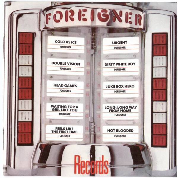 Foreigner Foreigner - Records (colour) foreigner foreigner alive