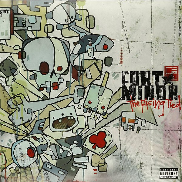 Fort Minor Fort Minor - The Rising Tied (2 Lp, 180 Gr) pantera pantera the great southern trendkill 2 lp 180 gr