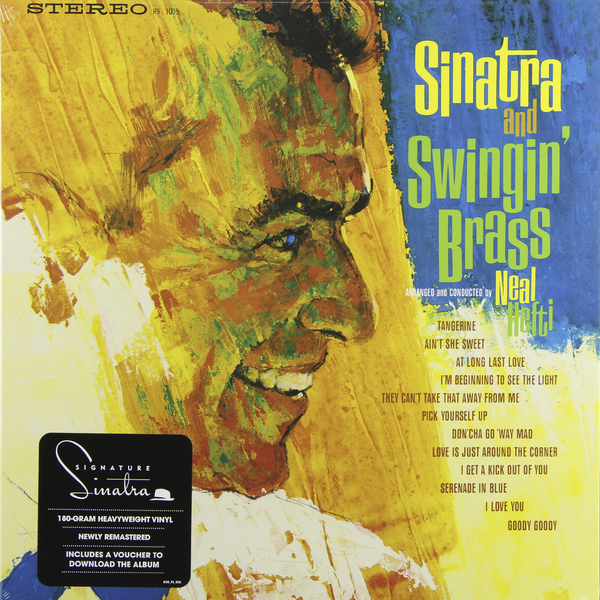 Frank Sinatra Frank Sinatra - Frank Sinatra And Swingin' Brass (180 Gr) frank sinatra frank sinatra great songs from great britain 180 gr
