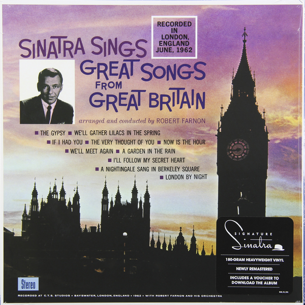 Frank Sinatra Frank Sinatra - Great Songs From Great Britain (180 Gr) belgium great britain eurobasket 2017
