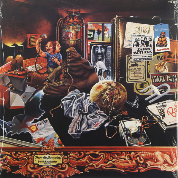 Фото - Frank Zappa Frank Zappa - Overnite Sensation (180 Gr) frank zappa freak out