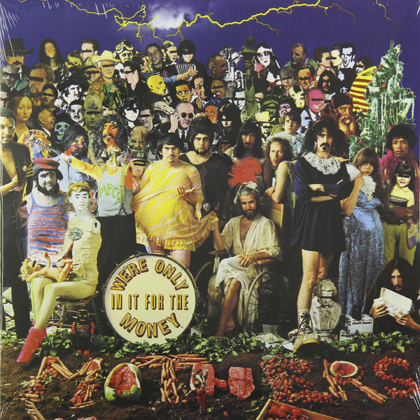 Frank Zappa Frank Zappa - We're Only In It For The Money gaffikin frank planning in divided cities