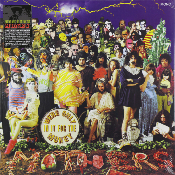 Фото - Frank Zappa Frank Zappa - We're Only In It For The Money (picture) frank zappa freak out