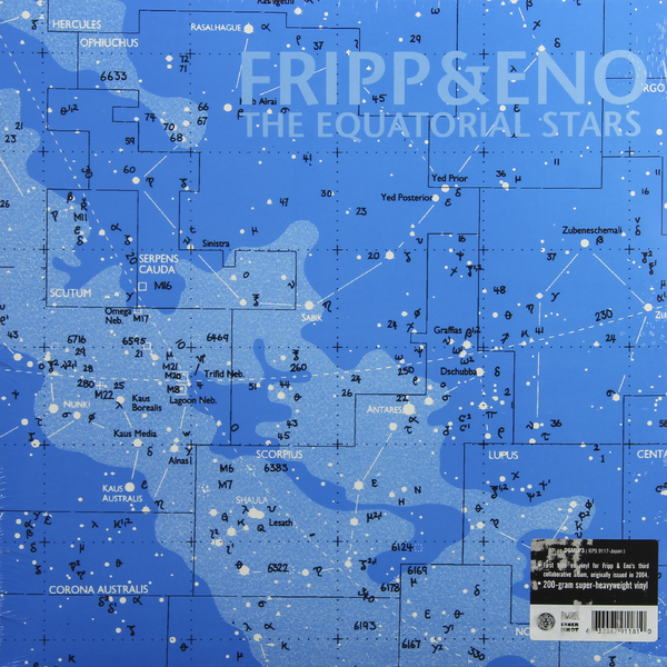 Fripp Eno - The Equatorial Stars (200 Gr)