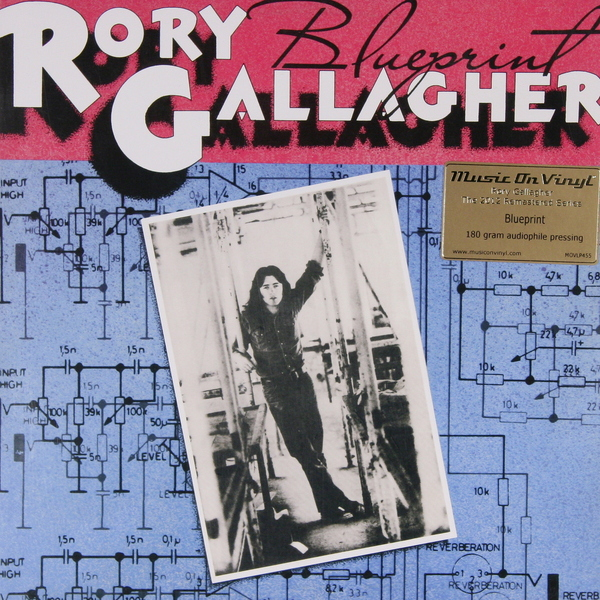 все цены на Rory Gallagher Rory Gallagher - Blueprint (180 Gr) в интернете