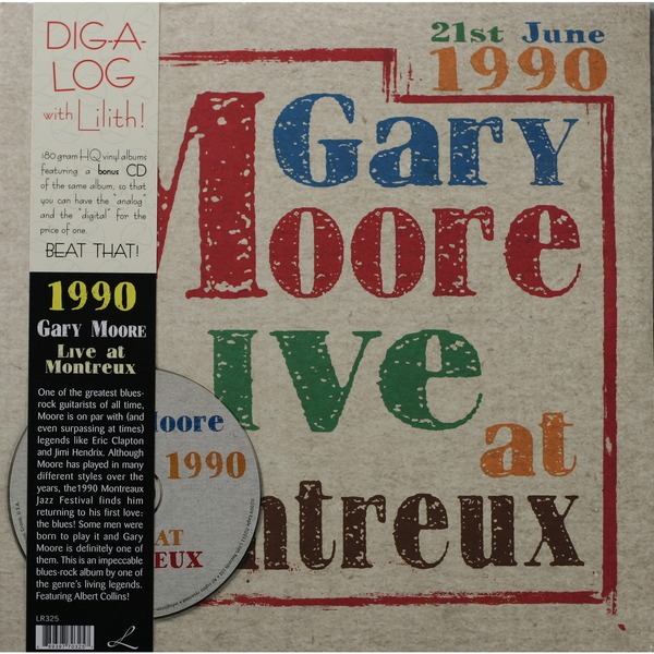 Gary Moore Gary Moore - Live At Montreux 1990 (2 Lp, 180 Gr + Cd) cd gary moore the rock collection