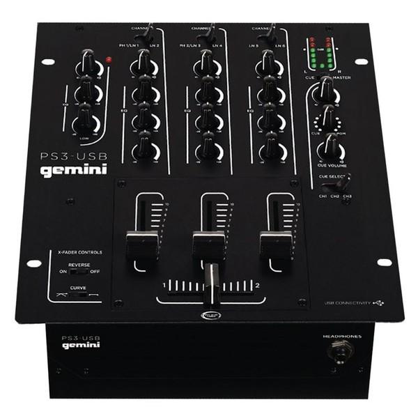 DJ микшерный пульт Gemini PS3