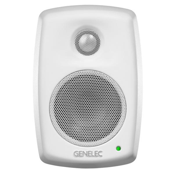 Активная полочная акустика Genelec 4010AW White полочная акустика genelec 8020cpm