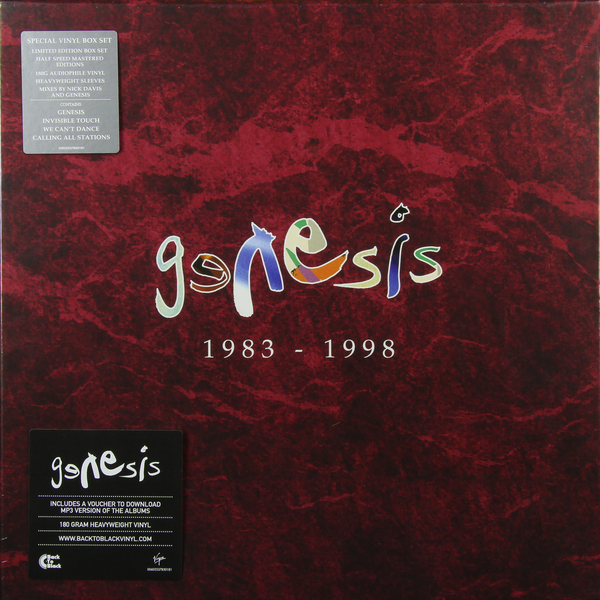 Genesis Genesis - 1983-1998 (6 LP) часы nixon genesis leather white saddle