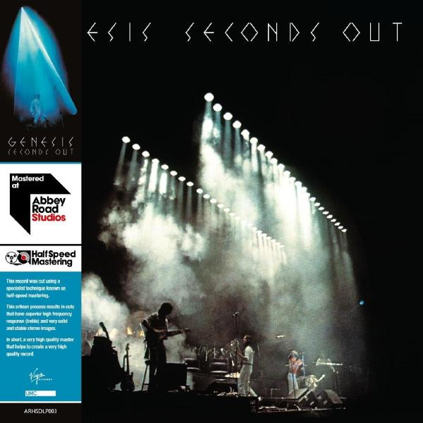 Genesis Genesis - Seconds Out (half Speed Master) (2 LP) цена и фото